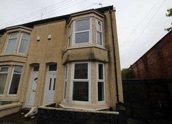 Thumbnail 2 bed end terrace house to rent in Hemans Street, Bootle