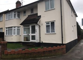 Thumbnail 1 bedroom flat to rent in Girton Road, Northolt