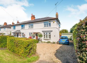 Thumbnail 2 bedroom semi-detached house for sale in Washingley Road, Folksworth, Peterborough