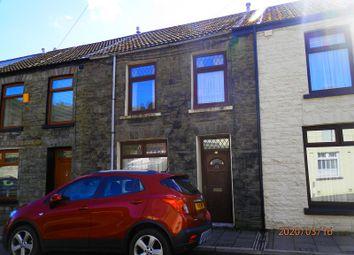 Thumbnail 2 bed terraced house for sale in Dunraven Street, Treherbert, Rhondda Cynon Taff.