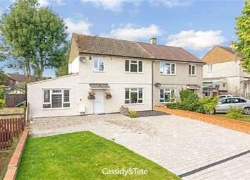 Thumbnail 4 bed semi-detached house to rent in Green Lane, St Albans, Hertfordshire