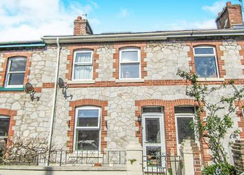 Thumbnail 3 bed terraced house for sale in Waltham Road, Newton Abbot