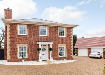 Thumbnail 4 bedroom detached house for sale in Simpson Way, Bury Saint Edmunds, Suffolk