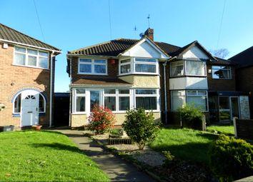 Thumbnail 3 bed semi-detached house for sale in Meriden Drive, Kingshurst, Birmingham