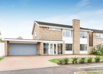 Thumbnail 4 bed detached house for sale in Parkstone Close, Bedford