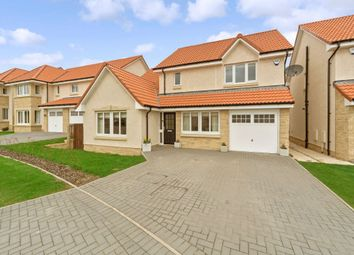Thumbnail 4 bed detached house for sale in Castell Maynes Crescent, Bonnyrigg