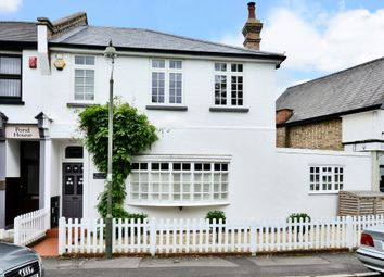 Thumbnail 3 bed terraced house for sale in Weston Green, Thames Ditton, Thames Ditton