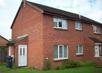 Thumbnail 1 bed terraced house to rent in Marsh Close, Rushey Mead