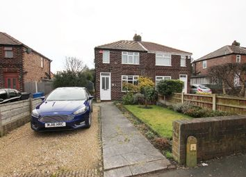 Thumbnail 2 bed semi-detached house for sale in Alder Road, Woolston, Warrington