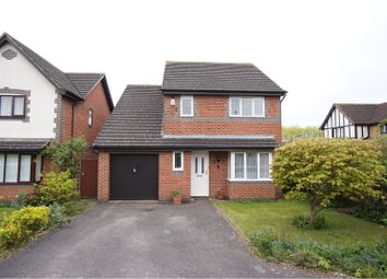 Thumbnail 3 bedroom detached house for sale in Chepstow Close, Stevenage