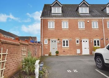 Thumbnail 3 bed end terrace house for sale in St Johns Close, Burntwood, Staffordshire