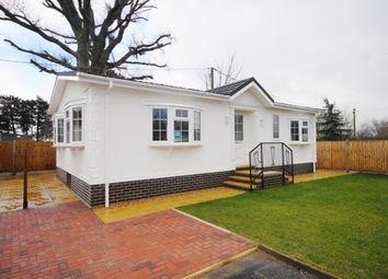 Thumbnail 2 bed mobile/park home for sale in Slepe Park, Dorchester Road, Slepe, Poole, Dorset