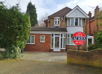 Thumbnail 3 bed detached house for sale in Welwyndale Road, Wylde Green, Sutton Coldfield