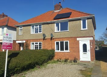 Thumbnail 3 bedroom semi-detached house for sale in Edwin Avenue, Woodbridge