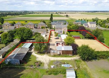 Thumbnail 5 bed equestrian property for sale in Ugg Mere Court Road, Ramsey Heights, Cambridgeshire.