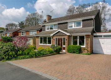 Thumbnail 4 bed link-detached house for sale in Oakwood Road, Windlesham, Surrey