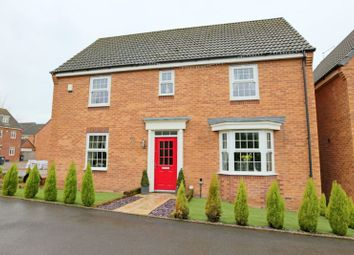 Thumbnail 4 bed detached house to rent in Snowgoose Way, Newcastle-Under-Lyme