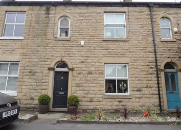 Thumbnail 3 bed terraced house for sale in Compstall Road, Marple Bridge, Stockport