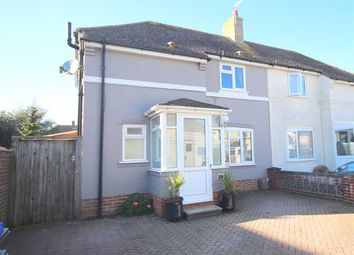 Thumbnail 4 bed semi-detached house for sale in Buci Crescent, Shoreham-By-Sea
