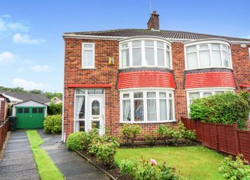 Thumbnail 3 bed semi-detached house for sale in Glenmor Grove, Middlesbrough