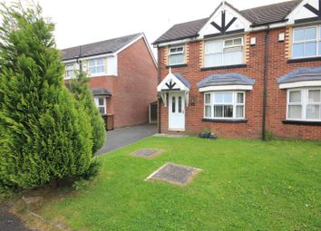 Thumbnail 3 bed semi-detached house for sale in Pleasant Street, Rochdale, Greater Manchester