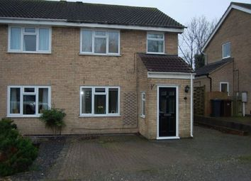 Thumbnail 3 bedroom semi-detached house for sale in Phillips Way, Long Buckby, Northampton