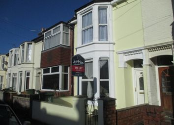 Thumbnail 3 bedroom terraced house to rent in Connaught Road, Portsmouth