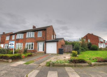 Thumbnail 3 bed semi-detached house for sale in Blanchland Avenue, Wideopen, Newcastle Upon Tyne