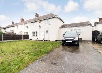 Thumbnail 3 bed semi-detached house for sale in Cross Street, New Rossington, Doncaster