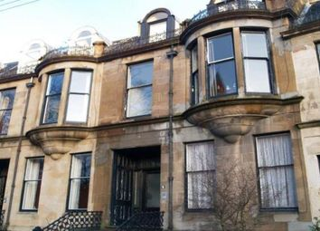 Thumbnail 1 bedroom flat to rent in Grosvenor Crescent, Glasgow