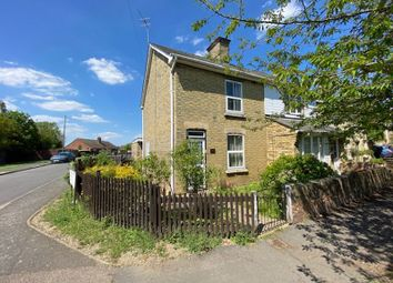 Thumbnail 3 bed semi-detached house for sale in High Street, Warboys, Huntingdon.