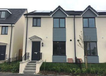 Thumbnail 3 bed semi-detached house for sale in Cherry Tree Gardens, Pennycross Close, Plymouth