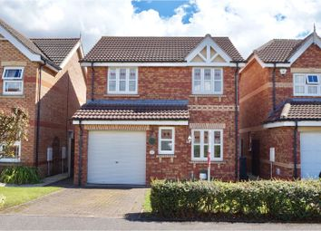 Thumbnail 3 bed detached house for sale in Rivermead, Lincoln