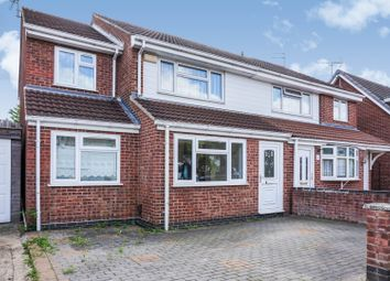 Thumbnail 4 bed semi-detached house for sale in Archer Close, Leicester