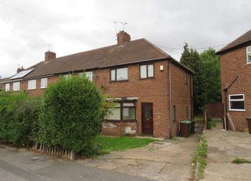 Thumbnail 3 bedroom end terrace house for sale in Felstead Road, Nottingham