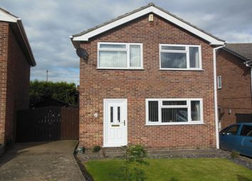Thumbnail 3 bed detached house for sale in Dawson Close, Newthorpe, Nottingham