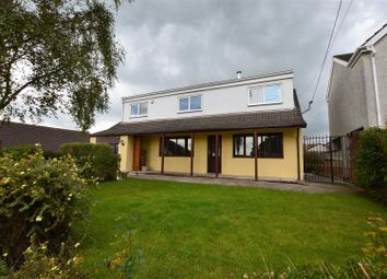 Thumbnail 5 bed detached house for sale in Gellifedi Road, Brynna, Pontyclun