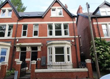 Thumbnail 2 bed flat for sale in Rosebery Crescent, Newcastle Upon Tyne