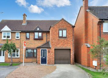 Thumbnail 3 bed semi-detached house for sale in Valebrook Road, Stathern, Melton Mowbray