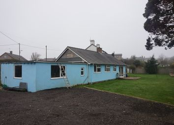 Thumbnail 3 bed detached bungalow for sale in Chwilog, Pwllheli