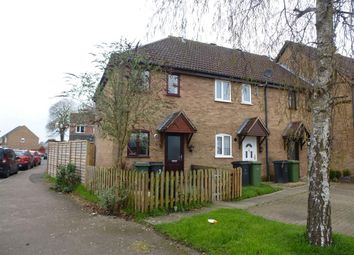 Thumbnail 2 bedroom end terrace house to rent in Thorpe Drive, Attleborough