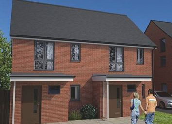 Thumbnail 2 bed semi-detached house for sale in The Clarke B At Springhead Park, Wingfield Bank, Northfleet, Gravesend