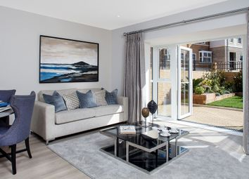 Thumbnail 3 bed town house for sale in Flambard Way, Godalming, Surrey