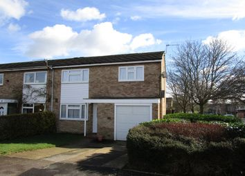 Thumbnail 3 bedroom end terrace house for sale in Millfield, Welwyn Garden City