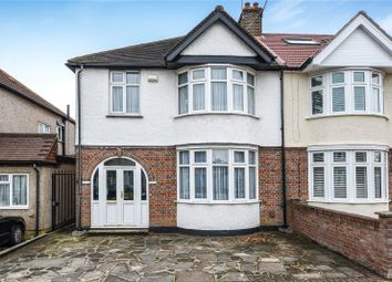 Thumbnail 3 bed semi-detached house for sale in Rusland Park Road, Harrow, Middlesex