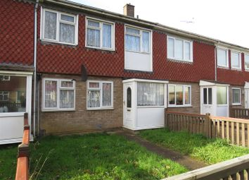 Thumbnail 3 bed terraced house for sale in Flore Close, Ravensthorpe, Peterborough