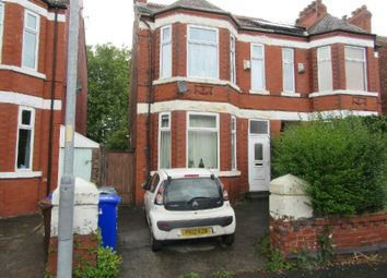 Thumbnail 3 bedroom semi-detached house for sale in Clarendon Road West, Chorlton Cum Hardy, Manchester