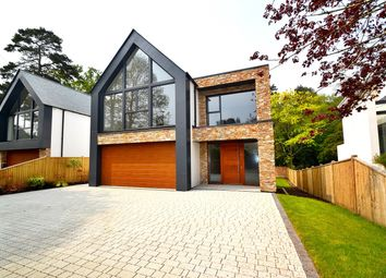 Thumbnail 4 bedroom detached house for sale in Lakeside Road, Branksome Park