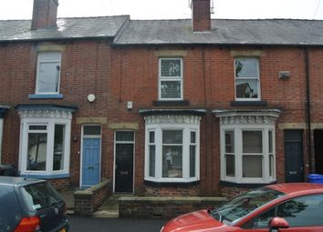 Thumbnail 3 bed terraced house to rent in Graham Road, Sheffield