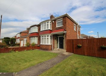 Thumbnail 3 bed semi-detached house to rent in Blackthorn Grove, Stockton-On-Tees